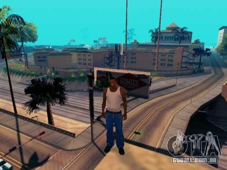 Gráfico Mod Eazy v1.2 para PC fraco para GTA San Andreas quinto tela