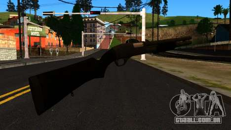 Preto MP-133 com Glitter para GTA San Andreas segunda tela