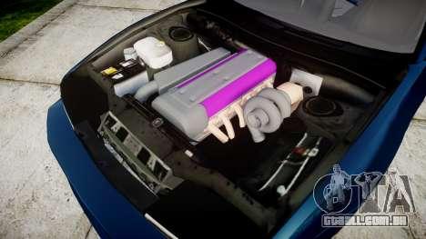 Nissan Silvia S13 1JZ para GTA 4 vista interior