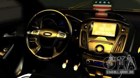 Ford Focus ST para GTA San Andreas vista direita