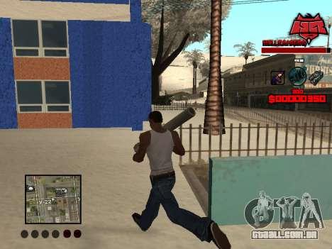 C-HUD Raisers para GTA San Andreas terceira tela