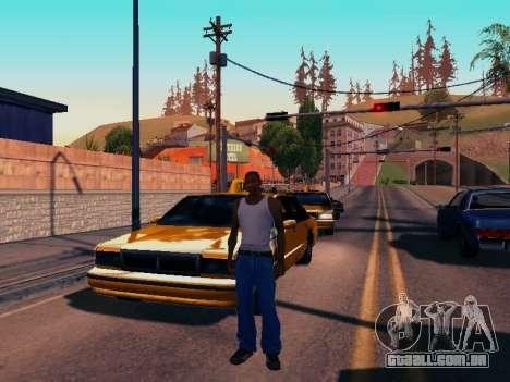 Gráfico Mod Eazy v1.2 para PC fraco para GTA San Andreas por diante tela