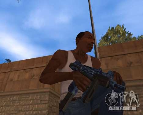 Ano novo Pack de Armas para GTA San Andreas terceira tela