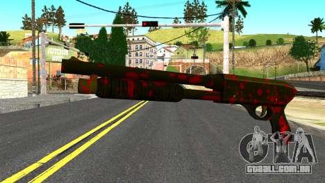 Shotgun with Blood para GTA San Andreas