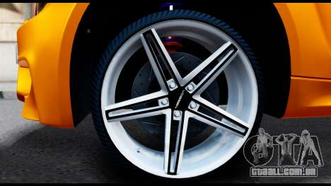 BMW M1 para GTA San Andreas traseira esquerda vista