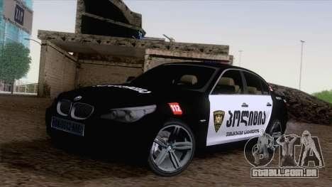 BMW M5 E60 Georgia Police para GTA San Andreas