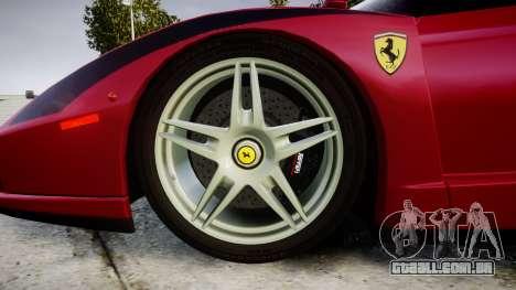 Ferrari Enzo 2002 [EPM] Stripes para GTA 4 vista de volta