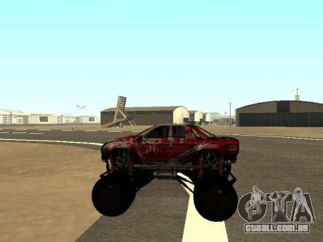 SuperMotoXL Zen MaXXimus CD 17.1 XL-HT para GTA San Andreas vista interior