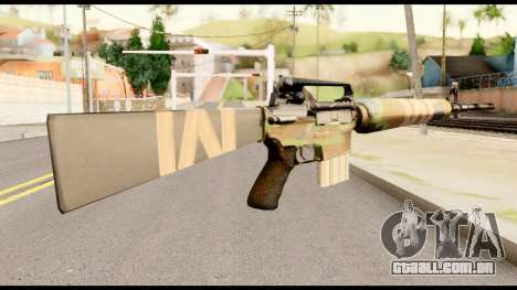 M16 from Metal Gear Solid para GTA San Andreas segunda tela