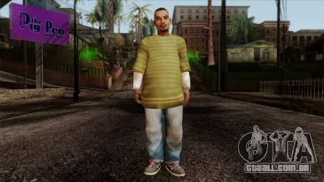 GTA 4 Skin 73 para GTA San Andreas