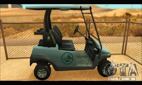Caddy (GTA V) para GTA San Andreas esquerda vista