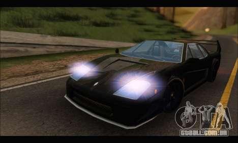 Turismo Limited Edition para GTA San Andreas esquerda vista