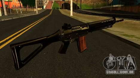 SIG-550 from S.T.A.L.K.E.R. para GTA San Andreas segunda tela