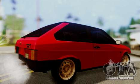 VAZ 2108 Hobo para vista lateral GTA San Andreas