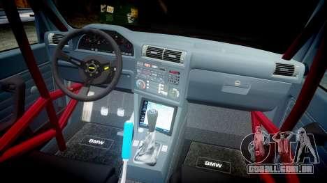 BMW E30 M3 para GTA 4 vista interior