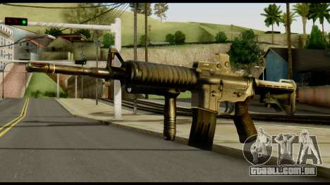 SOPMOD from Metal Gear Solid v2 para GTA San Andreas