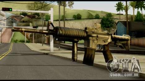 SOPMOD from Metal Gear Solid v2 para GTA San Andreas