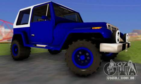 Messa Off-Road Styling pack v1 para GTA San Andreas vista direita