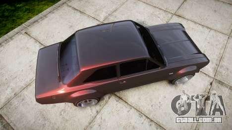Ford Escort Mk1 para GTA 4 vista direita