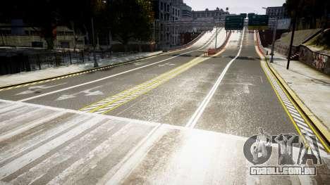 Textura estradas de alta definição 2014 v1.2 para GTA 4 terceira tela