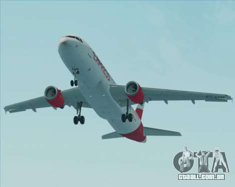 Airbus A320-200 Iberia Express para o motor de GTA San Andreas