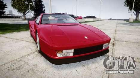 Ferrari Testarossa 1986 v1.2 [EPM] para GTA 4