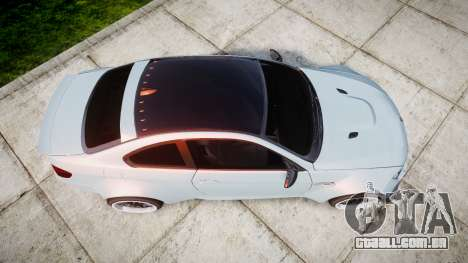 BMW E92 M3 LibertyWalk para GTA 4 vista direita