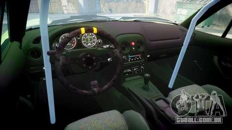 Mazda MX-7 para GTA 4 vista interior