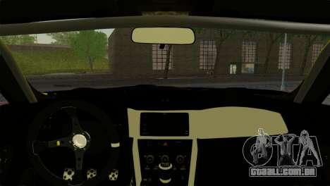 Subaru BRZ Drift Built para GTA San Andreas traseira esquerda vista