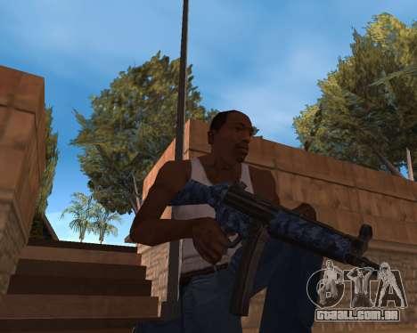 Ano novo Pack de Armas para GTA San Andreas segunda tela