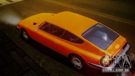 GTA 5 Lampadati Pigalle SA Plate para GTA San Andreas esquerda vista