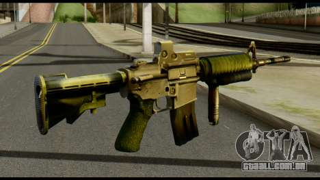 SOPMOD from Metal Gear Solid para GTA San Andreas segunda tela