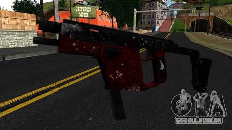 Natal MP5 para GTA San Andreas