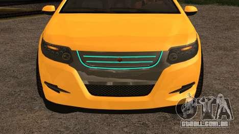 Cheval Surge 1.1 (IVF) para GTA San Andreas traseira esquerda vista