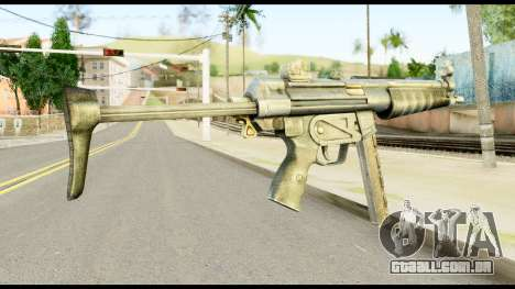 MP5 com Decomposta Bunda para GTA San Andreas segunda tela