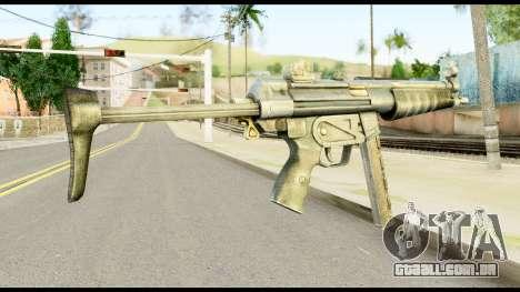 MP5 com Decomposta Bunda para GTA San Andreas segunda tela