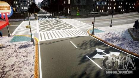 Textura estradas de alta definição 2014 v1.2 para GTA 4 por diante tela