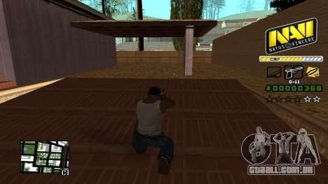 C-HUD NAVI para GTA San Andreas terceira tela
