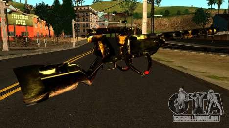 Laser Rifle Wattz 2000 para GTA San Andreas segunda tela