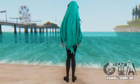 Miku Hatsune MMD para GTA San Andreas segunda tela