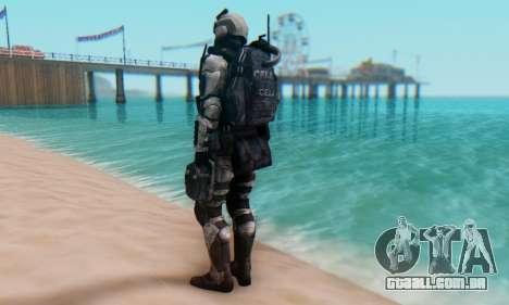 C.E.L.L. Soldier (Crysis 2) para GTA San Andreas terceira tela