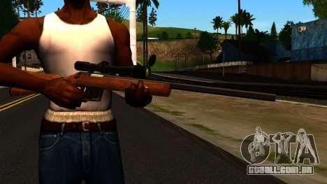 Rifle from GTA 4 para GTA San Andreas terceira tela