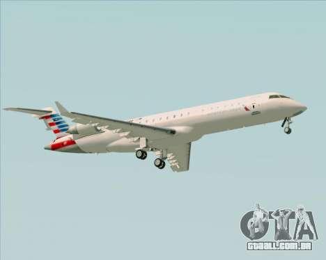 Bombardier CRJ700 American Eagle Airlines para GTA San Andreas vista direita
