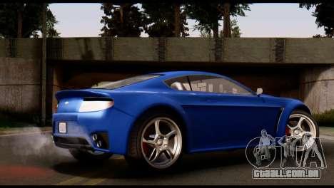 GTA 5 Dewbauchee Rapid GT Coupe [HQLM] para GTA San Andreas esquerda vista