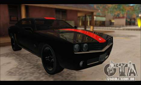Bravata Gauntlet (GTA V) (FIV & АПП) para GTA San Andreas