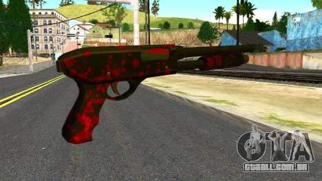 Shotgun with Blood para GTA San Andreas
