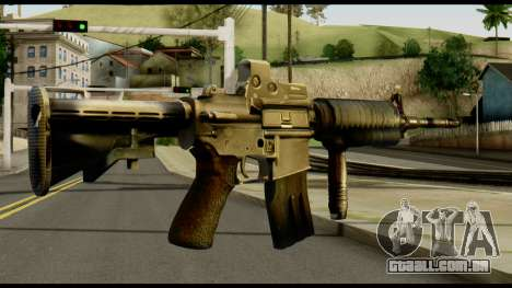 SOPMOD from Metal Gear Solid v2 para GTA San Andreas segunda tela