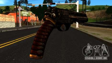 Pistol from Shadow Warrior para GTA San Andreas segunda tela