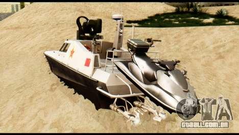 DV-15 Interceptor BF4 para GTA San Andreas esquerda vista