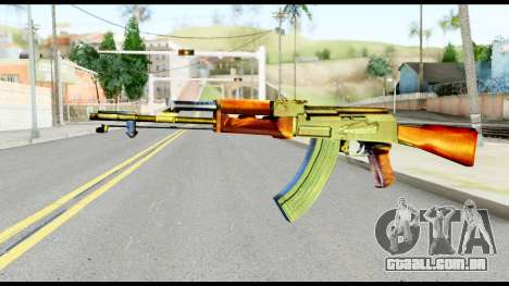 AK47 from Metal Gear Solid para GTA San Andreas
